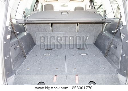 Large Trunk Of A Family Car Suv
