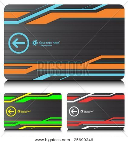 business cards (set 6)