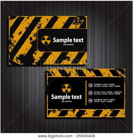 business cards set 26