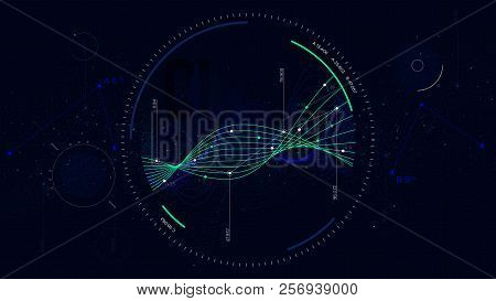 Big Data Network Vector & Photo (Free Trial) | Bigstock
