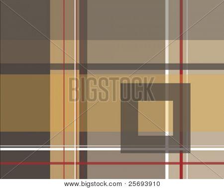 Modern decorative pattern