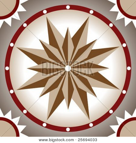 Vector ceramic tiles with seamless pattern 5