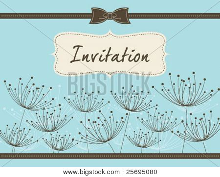 dandelion invitation template 05
