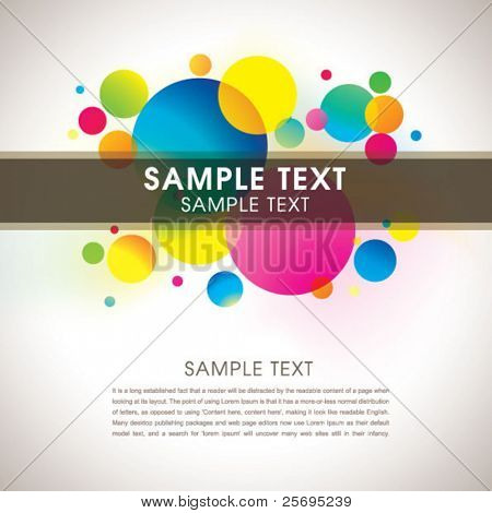 Abstract colorful template 01