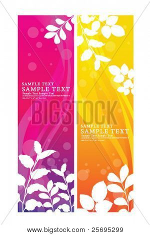 abstract flora banner 01