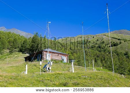 Weather Station For Monitoring The Weather In The Mountains.