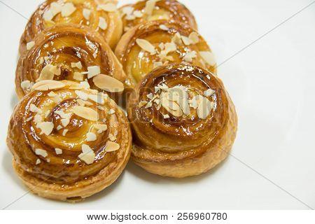 Freshly Baked Traditional Pastry Sweet Mini Danish