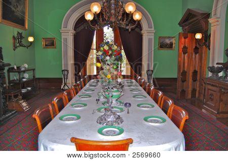 Grand Dining Room At Werribee Mansion