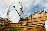 Magellan Replica Ship - Punta Arenas - Chile poster