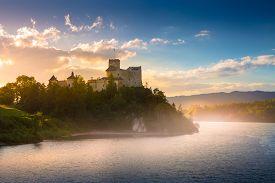 Medieval Castle In Niedzica By Lake Czorsztyn, Poland