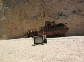 Famous Shipwreck On Zakynthos Greece 4