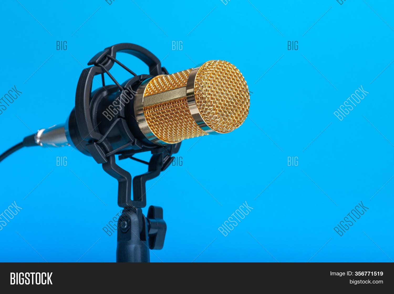 Studio Microphone Image Photo Free Trial Bigstock