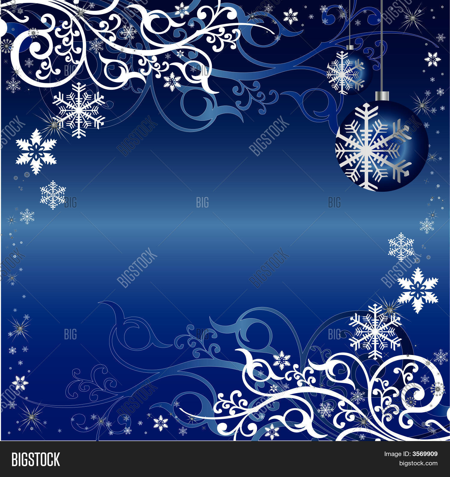 blue white christmas vector & photo (free trial) | bigstock
