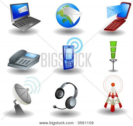 Ícones de comunicação