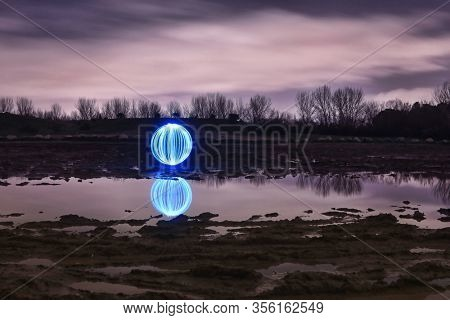 Creative Light Painting With Color and Spin Lighting