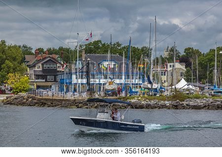 Kingston, Ontario, Canada, Aug 2014 - Kingston Yatch Club Is The Premier Boating Club In Eastern Ont