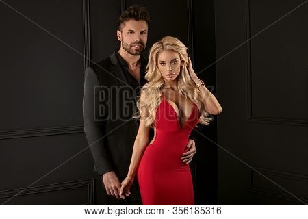 Sensual Couple Posing Together