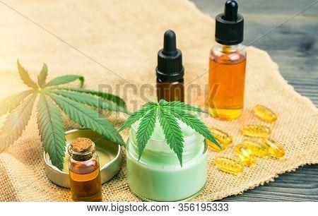 Cannabidiol Full Spectrum Cbd And Thc Cannabis Oils, Hemp Balm And Cbd Capsules