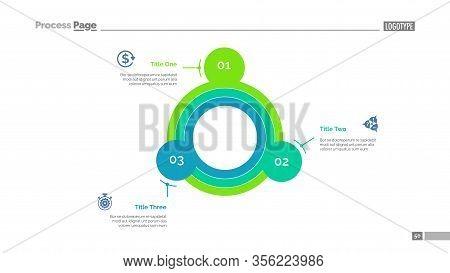 Uncommon Circular Chart Slide Template. Business Data. Graph, Diagram, Design. Creative Concept For