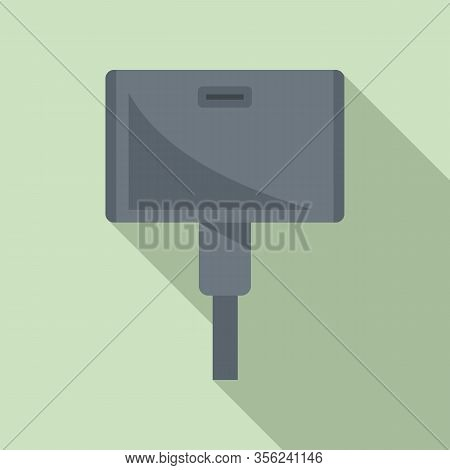 Wide Adapter Icon. Flat Illustration Of Wide Adapter Vector Icon For Web Design