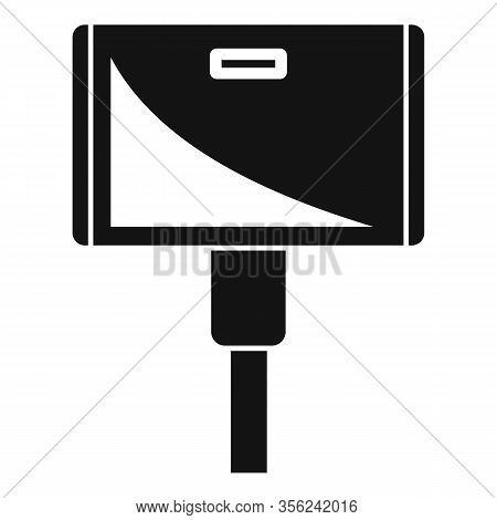 Wide Adapter Icon. Simple Illustration Of Wide Adapter Vector Icon For Web Design Isolated On White