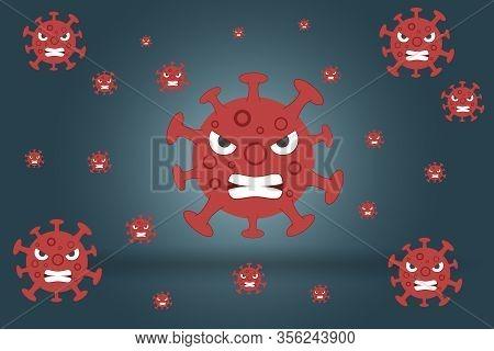 Coronavirus 2019-ncov Novel Coronavirus Concept Resposible For Asian Flu Outbreak And Coronaviruses