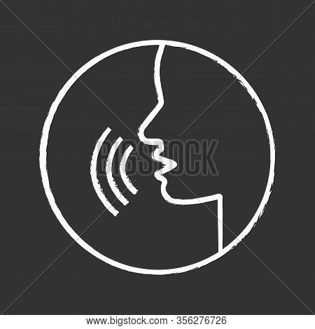 Pronunciation Chalk Icon. Phonetic Spelling. Speech Recognition. Speaking. Basic Language Skills. Vo