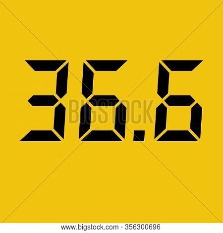 Abstract Background With Temperature Of 36.6. Ontrol And Access In A Public Place. Prevention Of Cor