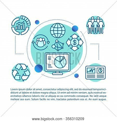 Corporate Policy Concept Illustration. Article, Brochure, Magazine Page. Business Analytics. Hr Mana