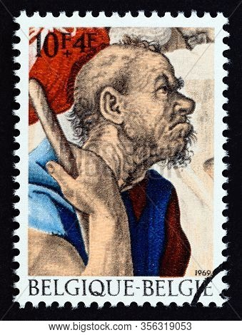 Belgium - Circa 1969: A Stamp Printed In Belgium From The
