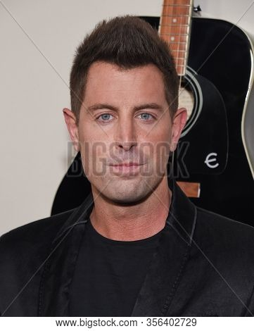 LOS ANGELES - MAR 07:  Jeremy Camp arrives for 'I Still Believe' Los Angeles Special Screening on March 07, 2020 in Hollywood, CA