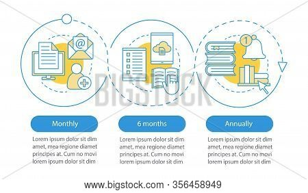 Virtual Library Subscription Vector Infographic Template. Online Education. E-library Tariff Plans.