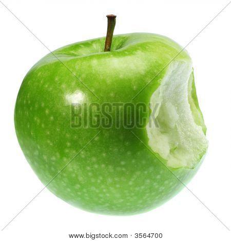 Green Biten Apple
