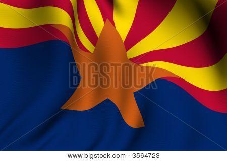 Rendered Arizona Flag