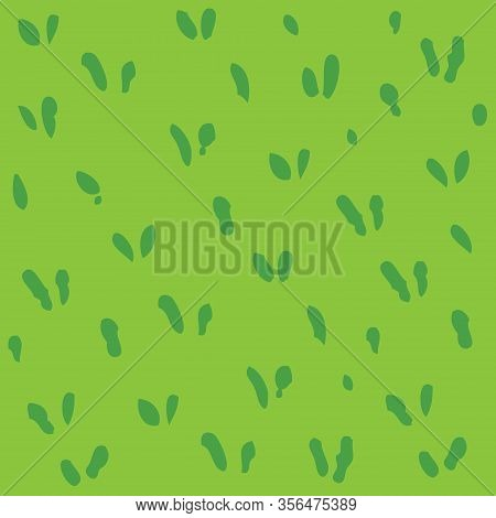 Green Grass Simple Seamless Pattern Or Background