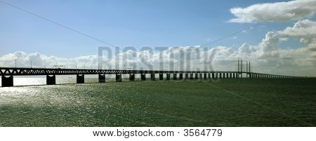 The Oresund Bridge In Scandinavia