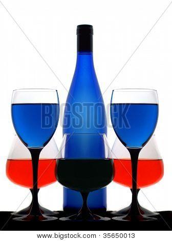 still-life wine
