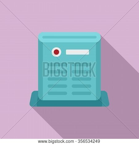 Air Purifier Care Icon. Flat Illustration Of Air Purifier Care Vector Icon For Web Design