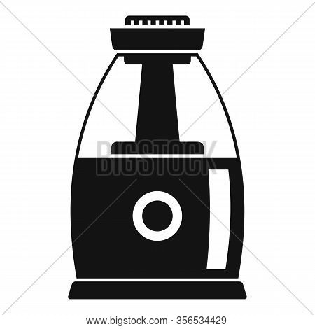 Comfort Air Purifier Icon. Simple Illustration Of Comfort Air Purifier Vector Icon For Web Design Is