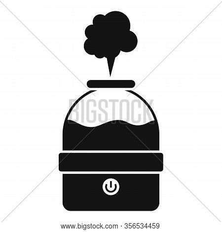 Vapor Air Purifier Icon. Simple Illustration Of Vapor Air Purifier Vector Icon For Web Design Isolat