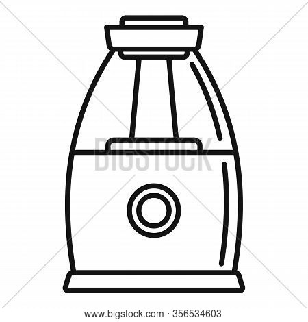 Comfort Air Purifier Icon. Outline Comfort Air Purifier Vector Icon For Web Design Isolated On White