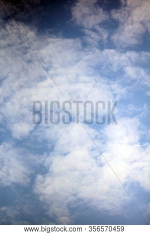 Sky And Clouds Background High Quality Auto Level Modern Prints