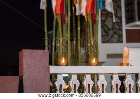 Diwali Festival Of Light Hindu Religion Traditional Ritual Trinidad And Tobago Night Time Celebratio
