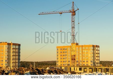 Financial Investments In The Construction Of Residential Buildings In A Promising Developing Area Of