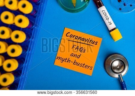 Faqs And Myth-busters For Covid-19 - Coronavirus Pneumonia. What You Need To Know. Quarantine And Pa