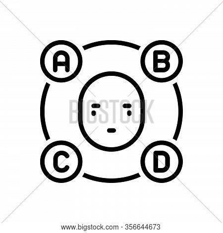 Black Line Icon For Elementary First Propaedeutic Preparatory Basic Origin
