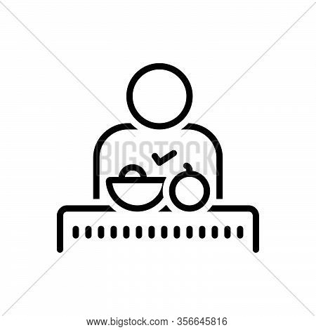 Black Line Icon For Operation Patient Injured Bruised Hospital Healthcare Emergency Manipulation Sur