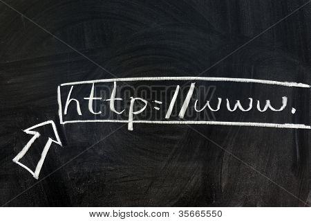 Visiting Web Site