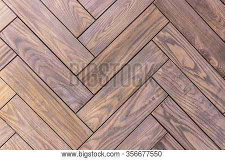 Wood Floor Background Pattern Texture Is Overlapping Notches