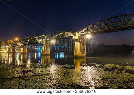 The Bridge On The River Kwai Built During World War Ii. Is An Important Place And A Destination For